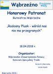 HonorowyPatronat Burmistrza - Radosny Plusk