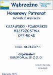 Kujawsko-Pomorskie Mistrzostwa Off-Road - HonorowyPatronat Burmistrza