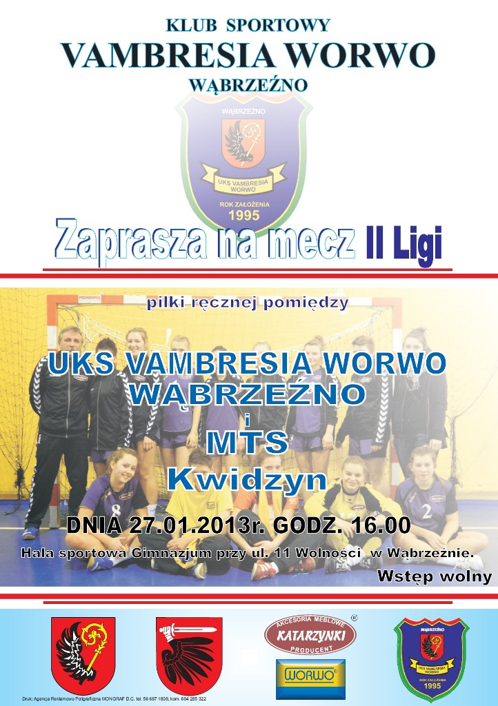 27 stycznia - mecz Vambresia