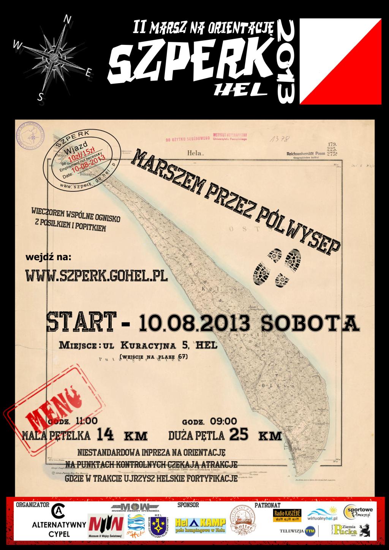 PLAKAT - marsz na Hel
