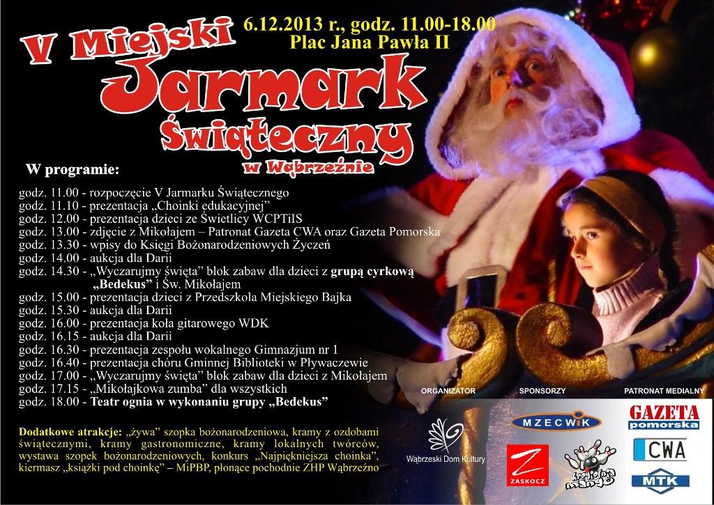 Jarmark świąteczny - 2013