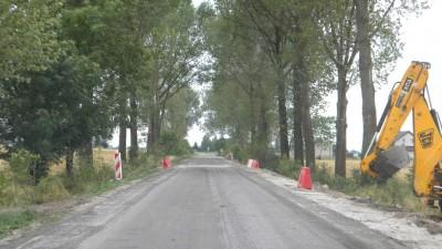 Przebudowa drogi Wąbrzeźno - Kowalewo