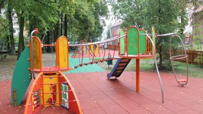 Plac zabaw w SP 2 1