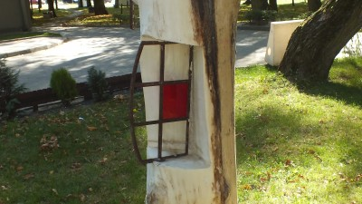 Rzeźba pt. Okno na świat
