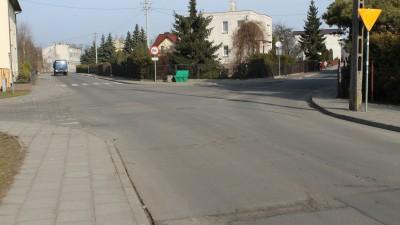 Ulica Pruszyńskiego -skrzyżowanie