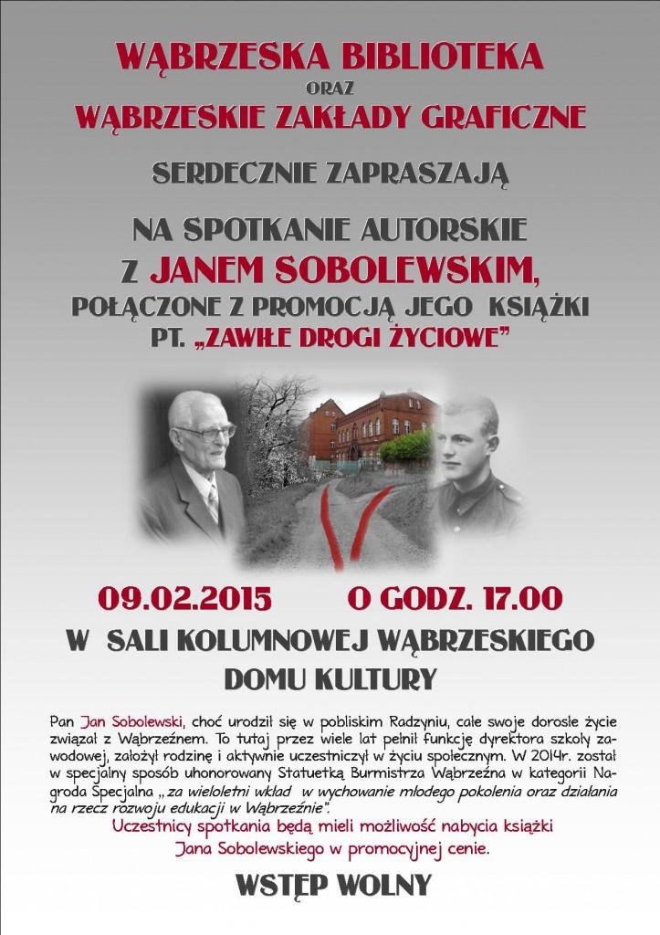 Spotkanie z Janem Sobolewskim