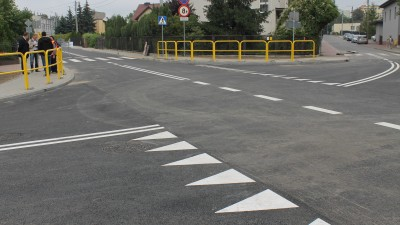 Ulica Generała Pruszyńskiego - zakończenie