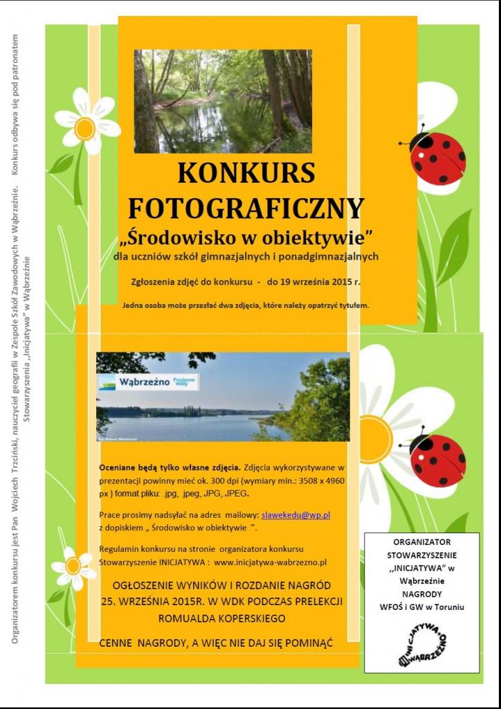 V Festiwal Turystyczny 2015r.-konkurs