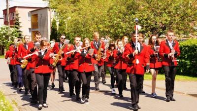 Orkiestra Dęta WDk na konkursie w Pruszczu zajęła III miejsce. Konkurs odbył sie 14 maja 2016 r.