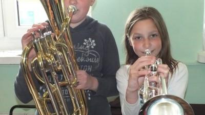 Nowe instrumenty dla Orkiestry Dętej WDK zakupione zostały w ramach budżetu obywatelskiego