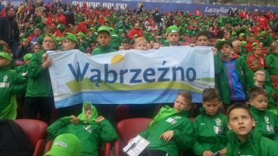 Turniej Tymbarku 2016 - zespół SP 3 reprezentował nasze województwo,grał w finałach na Stadionie Narodowym w Warszawie19