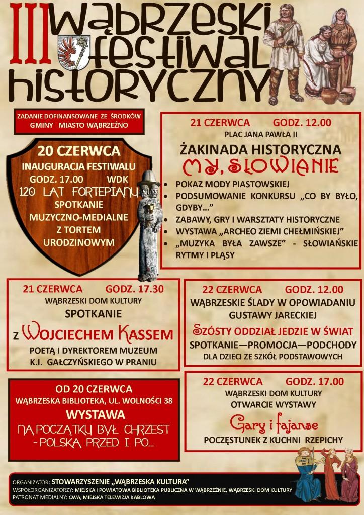 III Wąbrzeski Festiwal Historyczny