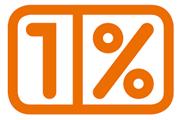 Ikonka 1 procent
