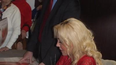 Teresa Warner na koncercie w Wąbrzeźnie