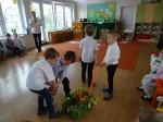 Zajączek Wielkanocny w Przedszkolu Miejskim Bajka - 2017 r.010120