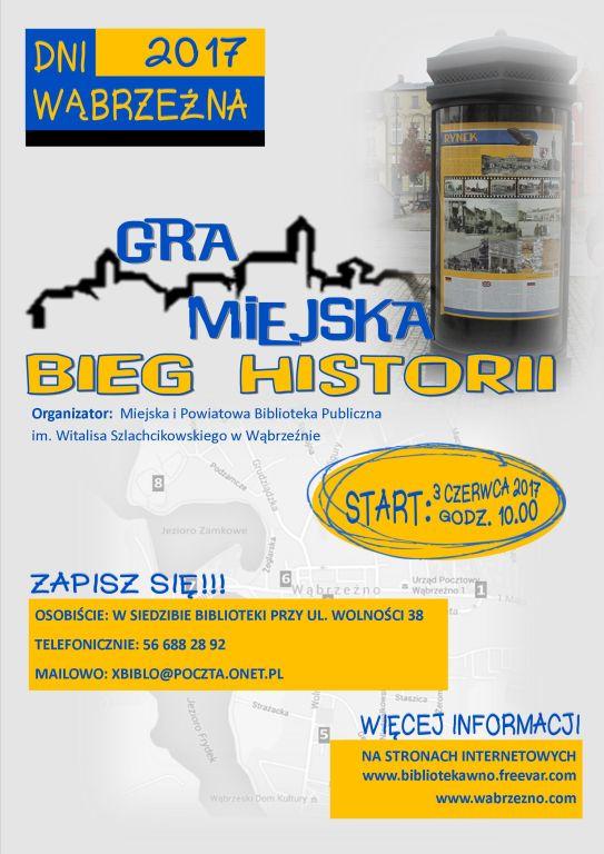 Gra miejska - Bieg historii