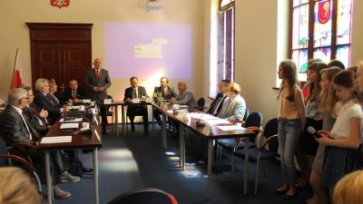 XXIX Sesja Rady Miasta - 27. rocznica samorządów w Polsce oraz podjęcie stanowiska w sprawie obrony samorządności6