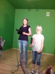 Pierwszacy w wąbrzeskiej telewizji - SP 3, kl. I b (3)