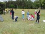 Pierwszacy z SP 2 Dzień Dziecka spędzili w gospodarstwie agroturystycznym w Wałyczyku (5)