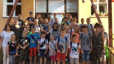 Wycieczka - nagroda dla uczniów klas IV - VI za dobre wyniki w nauce