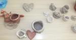 Uczyły się lepienia w glinie - warsztaty ceramiczne - lipiec 2017 r (9)