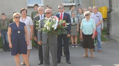Wąbrzeźno,1 sierpnia 2017 r. - 73. rocznica wybuchu Powstania Warszawskiego