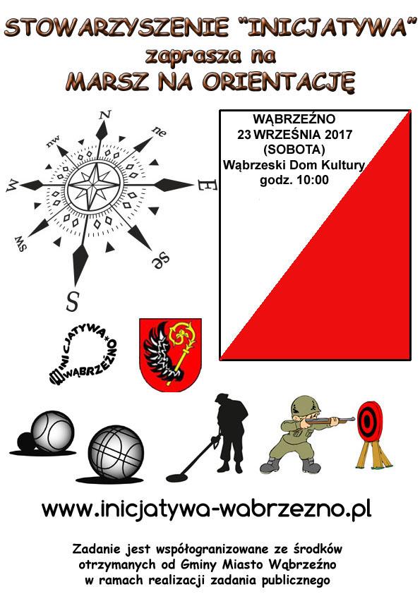 Marsz na orientację - 23 września 2017 r. (plakat)