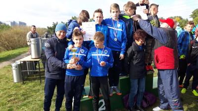 Finał Wojewódzki Drużynowych Biegów Przełajowych Igrzysk Dzieci - reprezentacje z SP 3 zdobyły tytuły wicemistrzów (1)