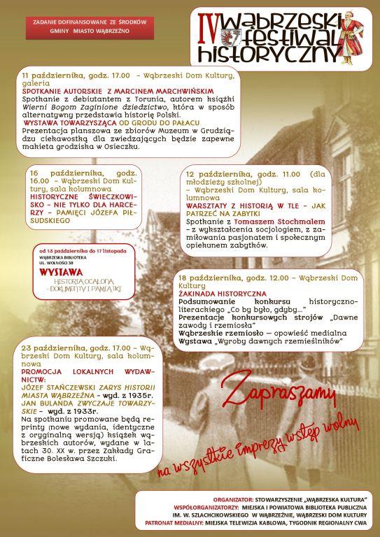 IV Wąbrzeski Festiwal Historyczny
