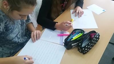 Międzynarodowy Dzień Pisania listów w SP 3 (5)