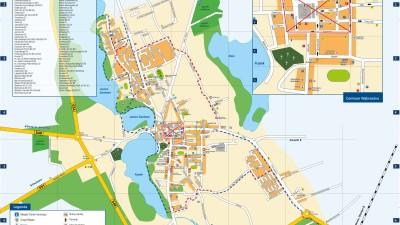 Plan Miasta Wąbrzeźno - analiza bezpieczeństwa ruchu