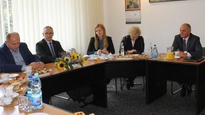 Spotkanie z marszałkiem Piotrem Całbeckim - 6.10.2017 r. 3