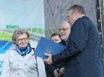 Uroczyste ogłoszenie wyników konursu Najpiekniejszy ogródek Wabrzeźna oraz wręcznie nagród - 6a października 2017 r. 6 państwo Sobieszczańscy