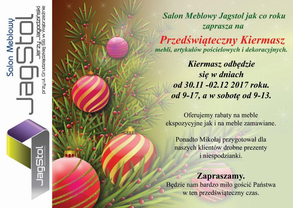 Kiermasz świąteczny w firmie Jagstol 1