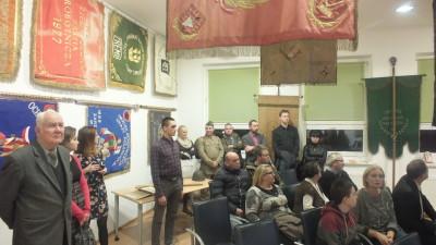 Otwarcie wystawy sztandarów i pamiątek z okresu zaborów - WDK, 13.11.2017r (1)05