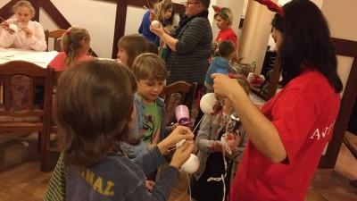 Warsztaty świąteczno – animacyjne dla dzieci - WDK (13)