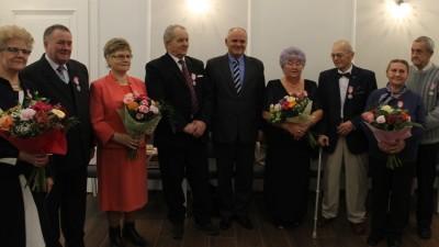 Medale za Długoletnie Pozycie Małżeństwie - 9 stycznia 2018 r. 21