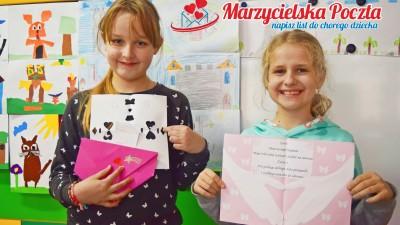 W akcji Marzycielska Poczta wzięli uczniowie SP3 w Wąbrzeźnie