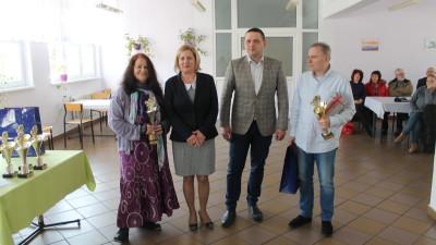 Od lewej-Anna Mandecka,Barbara Moch, Karol Sarnecki, Piotr Kopko