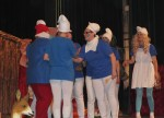 Spektakl- Przygody smerfów-w wykonaniu rodziców i nauczycieli 05