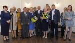 Uroczyste wręczenie Medali za Długoletnie Pożycie Małżeńskie - USC, Wąbrzeźno, 15 maja 2018 r. 12