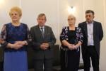 Uroczyste wręczenie Medali za Długoletnie Pożycie Małżeńskie - USC, Wąbrzeźno, 15 maja 2018 r. 2 - od lewej-p.Kufflowie,p. Wiśniewscy