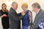 Uroczyste wręczenie Medali za Długoletnie Pożycie Małżeńskie - USC, Wąbrzeźno, 15 maja 2018 r. 4