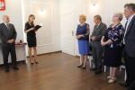 Uroczyste wręczenie Medali za Długoletnie Pożycie Małżeńskie - USC, Wąbrzexno, 15 maja 2018 r. 1