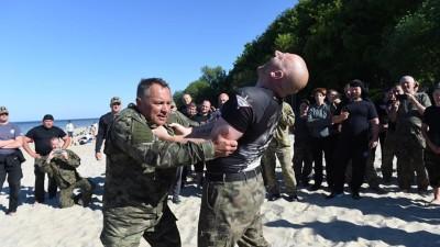 W dniach 22 – 25 maja w Pucku wąbrzescy karatecy odbyli kolejny Staż Systemu Combat 56 (3)