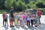 Klasa Ia SP 3 na wycieczce do Niedźwiedzia za zajęcie II m.w konkursie Zamień odpady na klasowe wypady (1)