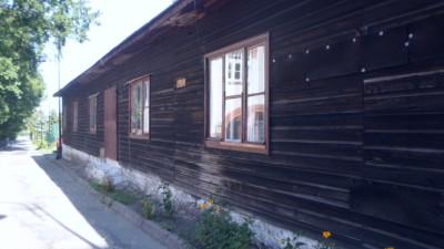Rozbiórka baraku przy ul. Strażackiej 2 - 9.07.2018r (3)