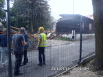 Rozbiórka baraku przy ul. Strażackiej 2 - 9.07.2018r (8)