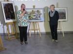 Wystawa prac Justyny Zarębskiej w wabrzeskiej bibliotece (3)