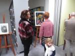 Wystawa prac Justyny Zarębskiej w wabrzeskiej bibliotece (6)